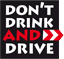 logo Don't Drink and Drive