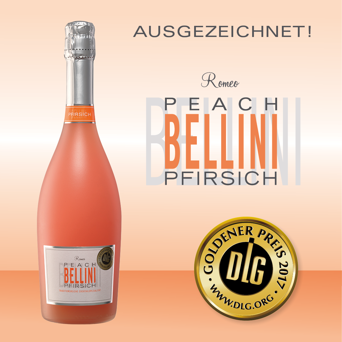 Romeo Bellini Peach Goldener Preis 2017 Award from DLG.org